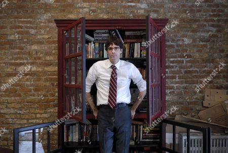 Joshua Ferris at his home in Brooklyn