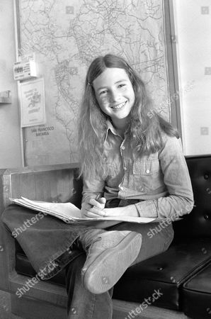 If you think Susie Brown, 14, of San Francisco is still a school girl - you're right. She's also the newest and youngest of the press corps covering the Patty Hearst bank robbery trial. Complete with her notebook, Susie is on hand to cover the trial for her school newspaper, the Marina Junior High School Penguin in San Francisco
