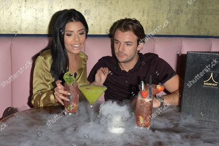 Carla De La Hoyde and Nathan Massey