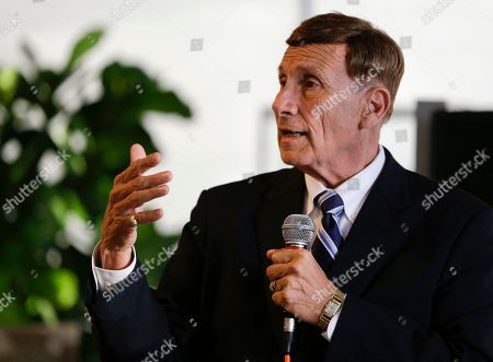 "John Mica Photo, Rep. John Mica, R-Fla. speaks to voters at an event in Maitland, Fla. Mica is seeking a 13th term in Congress from central Florida, but it's not an easy path. The veteran Republican tells supporters turnout is critical. And he's offers them this advice about his re-election contest: ''Don't let it get caught up in any of the other races or issues."" That seems code for Donald Trump, whose presidential run carries mixed blessings in a tight district. More than Trump is threatening Mica's career. In a battle of old school versus new, Mica faces Democrat Stephanie Murphy, a 38-year-old political neophyte"