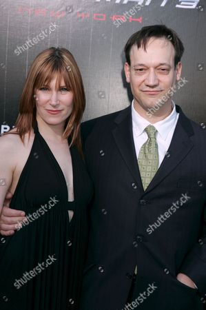 Stock Photo of Suzanne Keilly and Ted Raimi