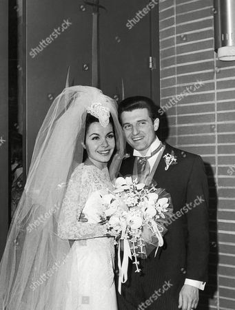 Annette Funicello, Jack Gilardi Annette Funicello, former member of the Disney Mousketeer club, leaves St. Cyril's Roman Catholic church in Encino, Calif.,, with her husband and agent, Jack Gilardi, after their marriage. She is 22 and he is 34