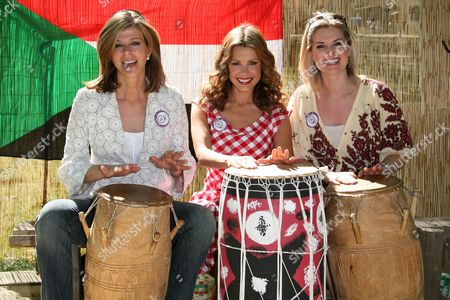Kate Garraway, Melinda Messenger and Sarah Jane Dunn
