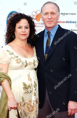 Mark Rolston and wife Georgina O. Farrill