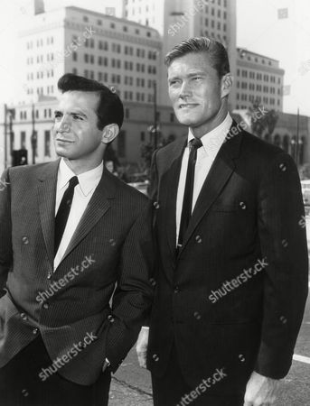 Ben Gazzara, Chuck Connors Teamed in a new TV series, Ben Gazzara, left, and Chuck Connors seem to work well and happily together, . They will star in ABC?s ?Arrest? and ?Trial,? which will be broadcast in two consecutive 45-minute parts, starting on Sunday, September 15. In a switch of expected roles, Gazzara, Actors Studio star, will play the detective, while Connors, ex baseball and basketball pro and TV Western star, will be the custom-tailored lawyer