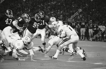 Editorial picture of Bluebonnet Bowl Alabama Oklahoma 1970, Houston, USA