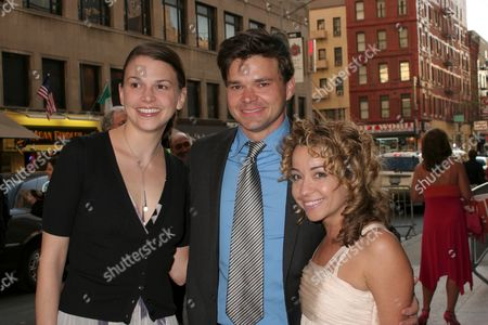 Sutton Foster, Hunter Foster, Jennifer Cody