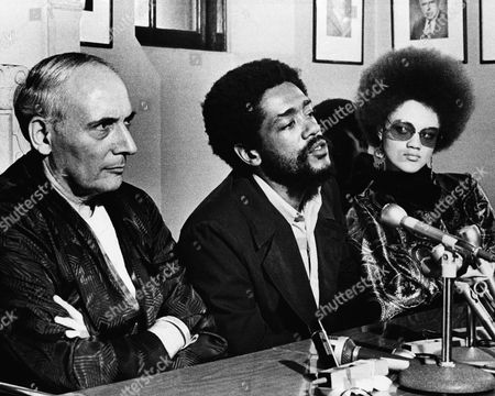 Bobby Seale, Kathleen Cleaver, Charles Garry Charles R. Garry, left, Black Panther attorney, accused San Francisco Mayor Joseph Alioto of provoking incidents that led to disorders in the Black Fillmore district in San Francisco, . Garry, in a wheel chair at Mt. Zion Hospital where he will undergo surgery, is shown at press conference with Black Panther Bobby Seale, minister of information, and Kathleen Cleaver