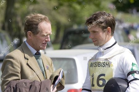 Father and Son, Richard and Harry Meade. Richard Meade is a former Olympic Event Rider and former Boyfriend of Princess Anne. Harry Meade is friend of Princes' William and Harry, and it was his 21st Birthday Party that Prince Harry wore a Nazi Uniform