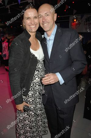 Dylan Jones and Sarah Walter (Manager of New Look store)