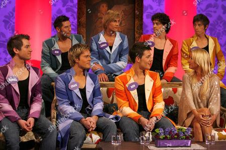 Daniel Boys, Craig Chalmers, Ben Ellis, Denise Van Outen, Rob McVeigh, Lewis Bradley, Lee Mead, Keith Jack.
