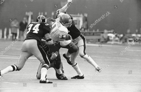 Editorial picture of Football Steelers Broncos '71, Pittsburgh, USA