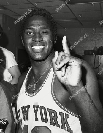 Willis Reed Shows Knicks captain Willis Reed, in the Knicks dressing room after victory. On Reed was announced as part of the 10-member class that will be inducted into the National Collegiate Basketball Hall of Fame in November. The rest of the class includes Patrick Ewing from Georgetown, Earl Monroe from Winston-Salem State. and Cylde Lovellette of Kansas was selected along with Phil Ford of North Carolina and Wyoming's Kenny Sailors. Dave Robbins, who won more than 700 games at Virginia Union, and joins former Kentucky coach Joe B. Hall as the two coaches to be inducted. Businessmen Jim Host and Joe Dean will go in as contributors