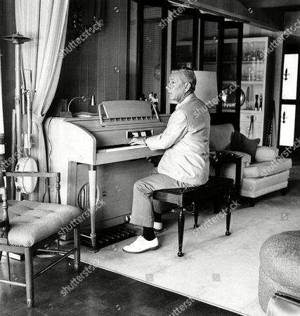 Carmichael Composer Hoagy Carmichael, 67, plays the piano during an interview in his home in Palm Springs, Ca., on