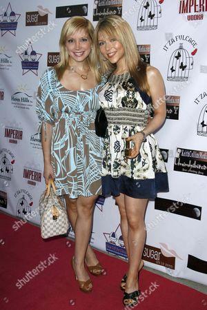 Stock Photo of Courtney Peldon and Ashley Peldon