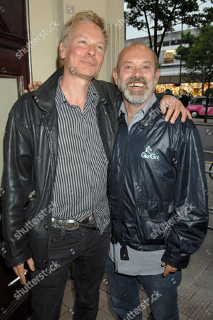 Julian Temple and Keith Allen