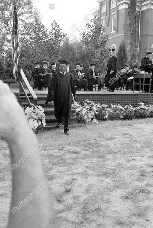 Editorial picture of James H. Meredith Graduation, Oxford, USA