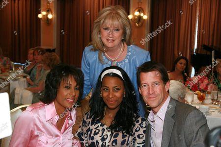Pat Harvey, Michelle Byrd, Gloria Gebbia and James Denton