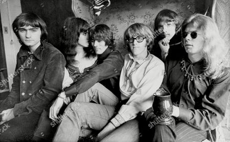 Marty Balin, Grace Slick, Spencer Dryden, Paul Kantner, Jorma Kaukonen, Jack Casady The rock band Jefferson Airplane pose in their Pacific Heights, San Francisco apartment, . From left: Marty Balin, Grace Slick, Spencer Dryden, Paul Kantner, Jorma Kaukonen and Jack Casady