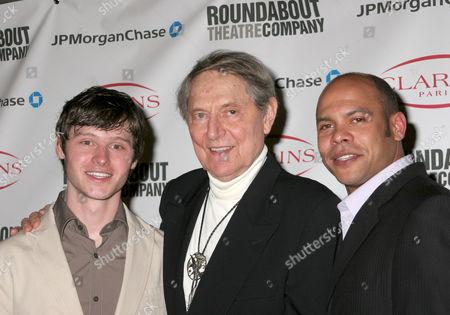 Bobby Steggert, John Cullum and Chris Butler