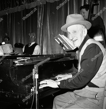 Durante Jimmy Durante, who will celebrate his 66th birthday Feb. 10, performs at the piano in Philadelphia, Pa