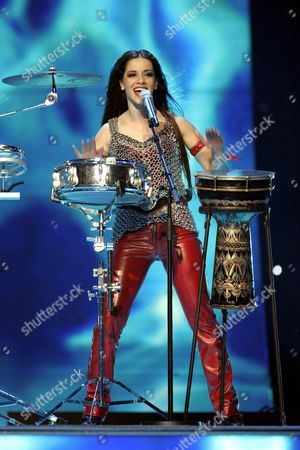 Editorial image of Eurovision Song Contest semi-finals in Helsinki, Finland - 10 May 2007