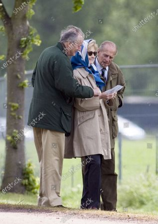 Lord Brabourne, Lady Brabourne and Prince Philip