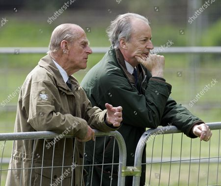 Prince Philip and Lord Brabourne (formerly Romsey)
