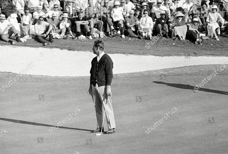 Tommy Jacobs Tommy Jacobs looks back at the cup on the 18th green after holing out with a par 288 in final round of the Masters Golf Tournament at Augusta National Golf Club, . Jacobs, Jack Nicklaus and Gay Brewer finished the tourney in a three-way tie, the first in the Masters' 30-year-history and will meet in an 18-hole playoff on Monday