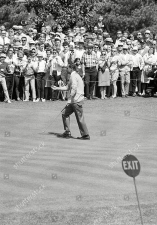Tommy Jacobs Tommy Jacobs uses a follows through motion with his hand and the gallery applauds as he birdies first hole in Masters Championship playoff at the Augusta, Georgia, National Golf club, . He wound up in a three-way tie with Jack Nicklaus and Gay Brewer