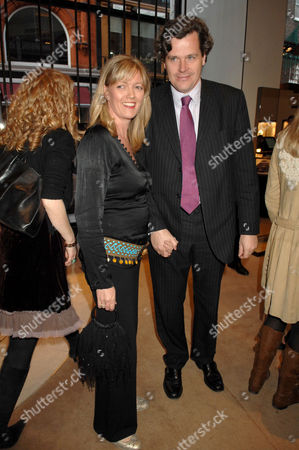 Editorial picture of Simon Sebag Montefiore's 'Young Stalin' book launch, Aspreys, London, Britain - 14 May 2007