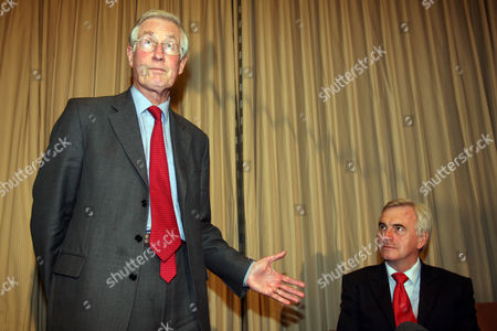 Michael Meacher and John McDonell  -  Labour leadership rivals Michael Meacher and John McDonell met and decided on which of them would stand in the leadership contest, with John McDonell taking on Gordon Brown