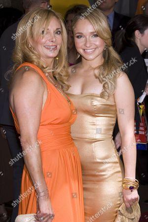 Hayden Panettiere with her mother Lesley Vogel