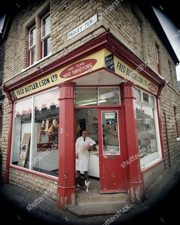 Before - Butcher, 1978 Fred Butler & Son 2 Fagley Terrace, Bradford, Yorkshire