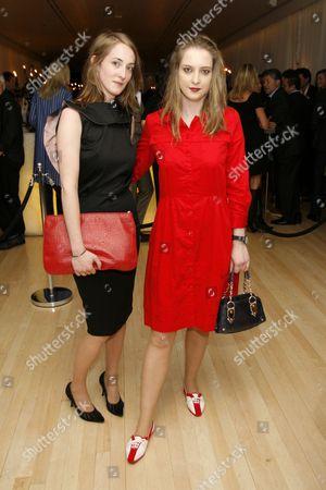 Poppy de Villeneuve and Daisy de Villeneuve