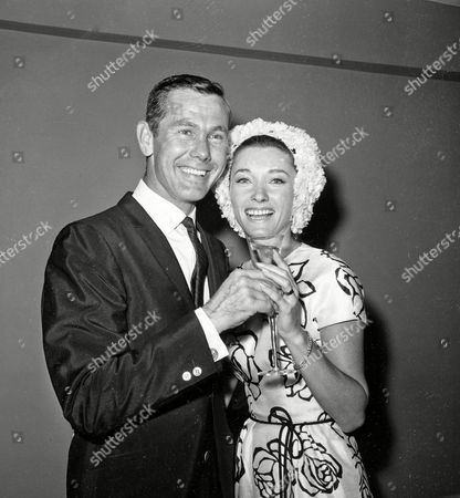 """Johnny Carson, Joanne Carson, Joanne Copeland Comedian Johnny Carson and his bride, former television personality and model Joanne Copeland, at a reception in his apartment after their wedding at in New York. Their marriage from 1963 to 1972 ended in divorce. Joanne Carson, who later in life became a close confidant of Truman Capote, died at her home in Los Angeles, according to the executor of her estate. Johnny Carson, who hosted """"The Tonight Show"""" from 1962 to 1992, died in 2005"""