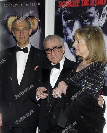 Glenn Lowry, Martin Scorsese and wife Helen
