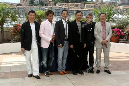 Tsui Hark , Ringo Lam , Johnnie To, Louis Koo, Sun Hong Lei and Simon Yam