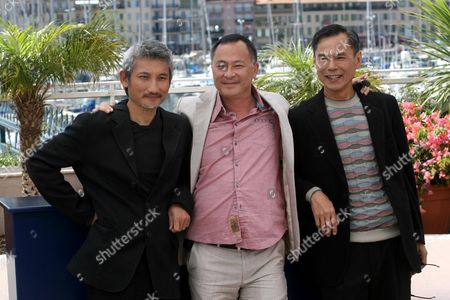 Ringo Lam, Johnnie To and Tsui Hark