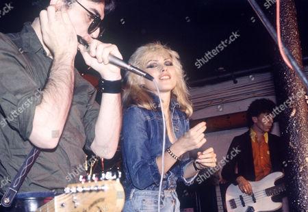 Blondie - Chris Stein, Deborah Harry and Nigel Harrison