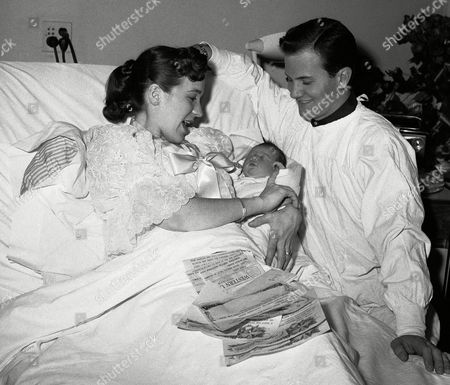 Editorial photo of Singer Pat Boone with his Family, Hackensack, USA
