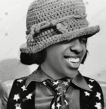 """Rock singer Sylvester """"Sly"""" Stone of Sly and the Family Stone"""