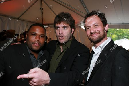 Anthony Anderson, Craig Bierko and Johnny Sneed