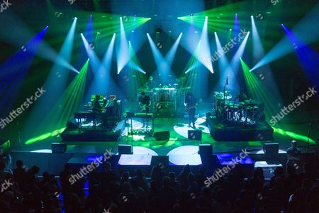 Editorial picture of Sound Tribe Sector 9 in concert at the Orpheum Theatre, Madison, Wisconsin, USA - 21 Oct 2016