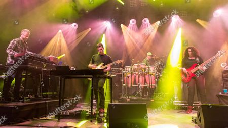 Editorial image of Sound Tribe Sector 9 in concert at the Orpheum Theatre, Madison, Wisconsin, USA - 21 Oct 2016