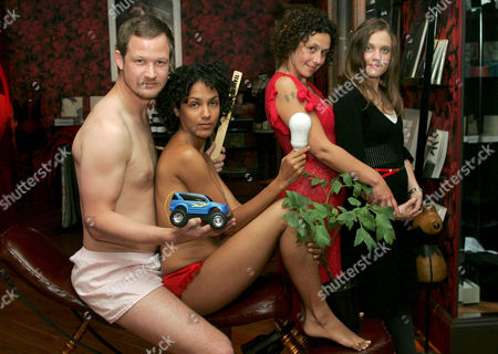 Sam Roddick (2nd from right), daughter of Anita Roddick and owner of Coco de Mer - sex emporium, will be co-hosting a discussion titled Sex and Climate Change at Bethnal Green Workings Mens club on.  It will be the first of Anti-Apathy's 'Nag Nights' in London and explores the relationship between sex and climate change