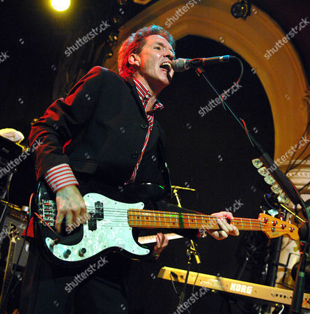 Bruce Foxton. The Jam featuring original members: guitarist/vocals Bruce Foxton and Rick Buckler on drums.