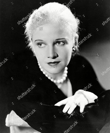 Actress Ann Harding is seen in this photo