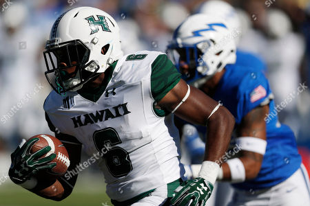 Paul harris Hawaii Warriors kick returner Paul Harris (6) runs with the ball in the second half of an NCAA college football game, at Air Force Academy, Colo. Hawaii won 34-27 in double overtime
