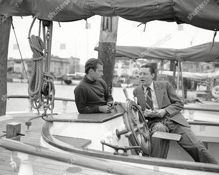 Sam Jackson Sam Jackson of Associated Press interviews Robert Clauson, an adventurous yachtsman on . Location unknown
